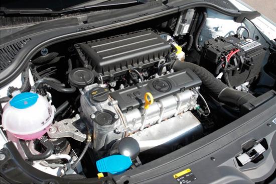 1.6 мотор Skoda Rapid