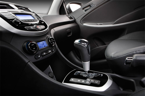 Эргономика седана Hyundai Solaris