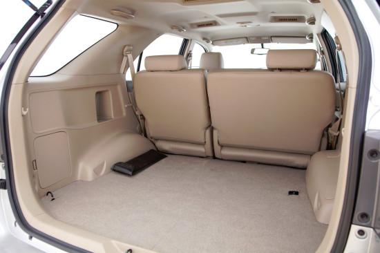 багажник Toyota Fortuner 1 (в пятиместном варианте)
