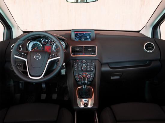 интерьер салона Opel Meriva B