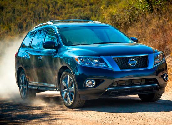 тест-драйв Nissan Pathfinder 4