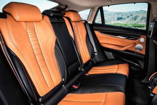 задние кресла BMW X6 2015