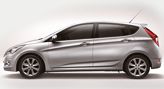 Hyundai Solaris hatchback 2015