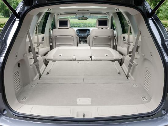 багажное отделение Nissan Pathfinder 4 R52