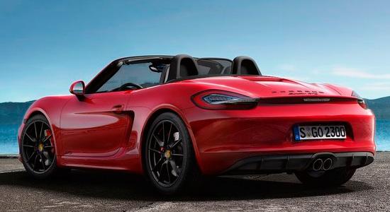 Porsche Boxster 3 GTS