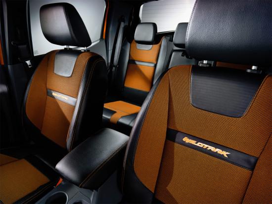 интерьер салона Ford Ranger 3