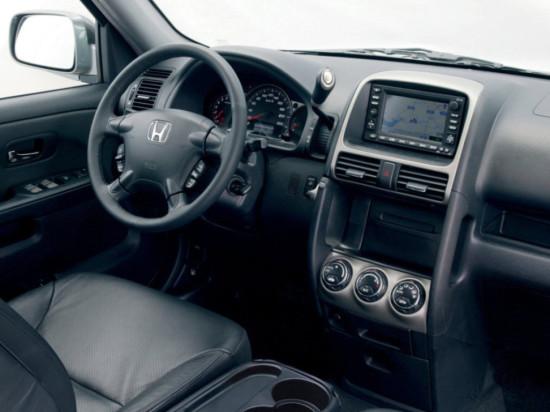 интерьер салона Хонды CR-V 2-поколения