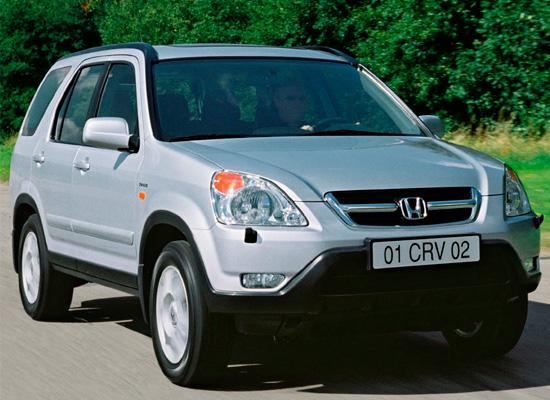 Honda CR-V 2 поколения