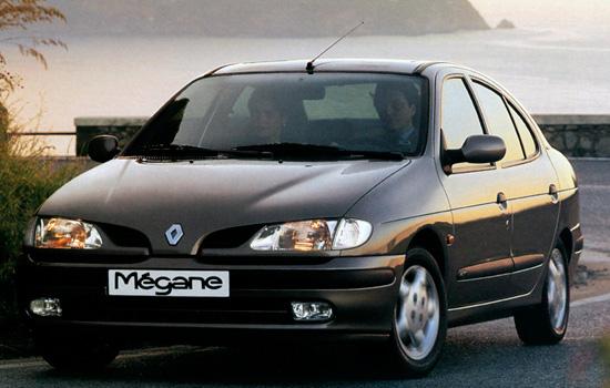 renault megane первого поколения
