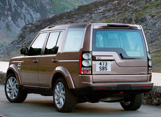 Land Rover Discovery IV 2014-2015