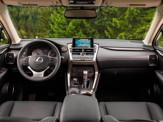 интерьер Lexus NX 200
