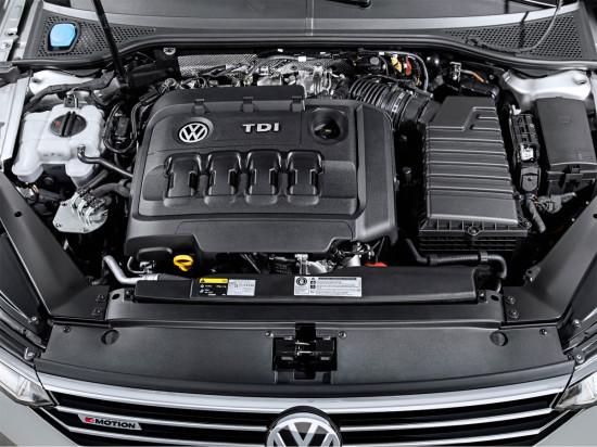 дизель под капотом VW Passat B8