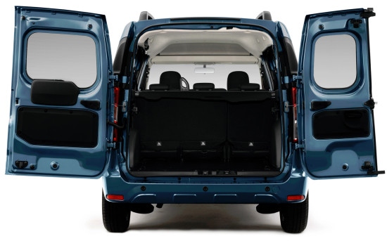 багажный отсек Dacia Dokker