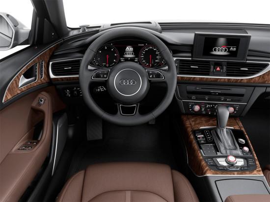 интерьер салона Audi A6 allroad quattro