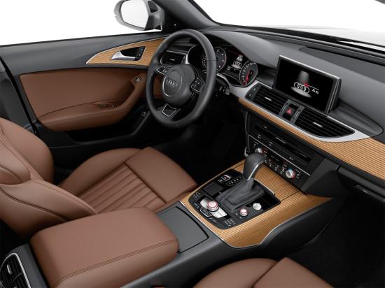 интерьер салона Audi A6 Avant 2015