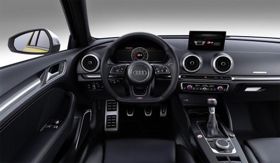 приборная панель и центральная консоль Ауди S3 3-го поколения