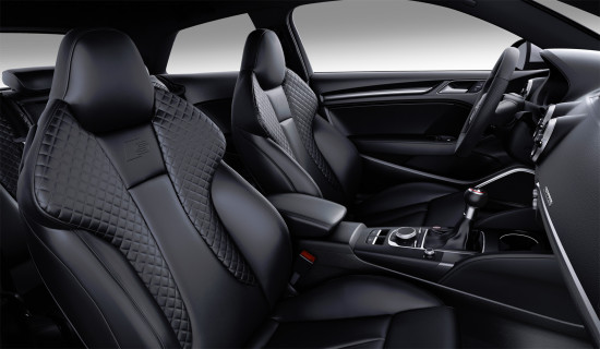 интерьер салона Audi S3 8V (передние кресла)