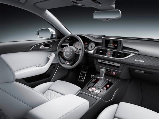 интерьер салона Audi S6 Avant 2015