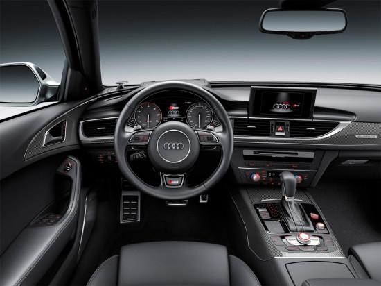 интерьер салона Audi S6 2015