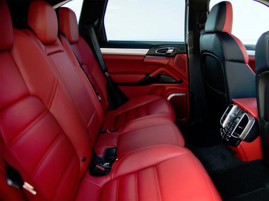 интерьер салона Porsche Cayenne Turbo S (958)