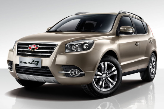 Geely Emgrand X7 2016-2017