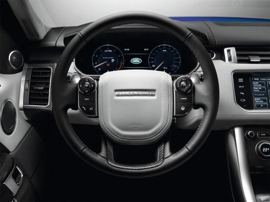 интерьер салона Range Rover Sport SVR (L494) 2014-2016