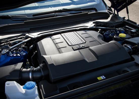 под капотом Range Rover Sport SVR (L494)