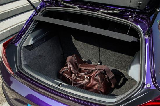 багажное отделение Volkswagen Scirocco