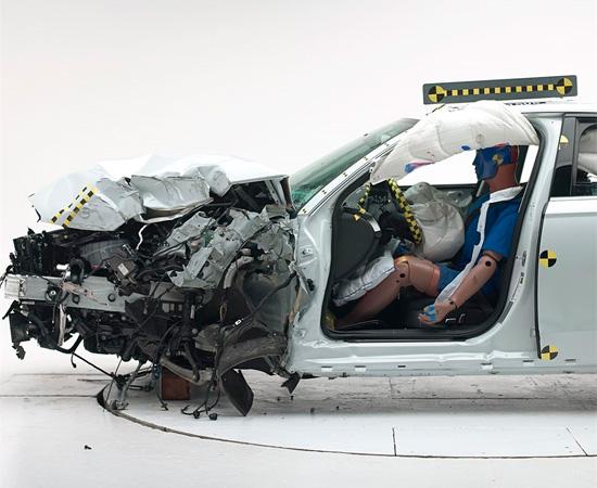 краш-тест Audi A6 (C7) IIHS