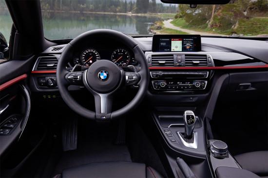 интерьер салона BMW 4-серии Gran Coupe (F36)