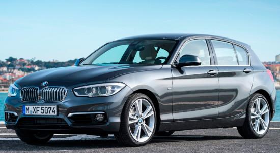 BMW 1-series F20 (2015)