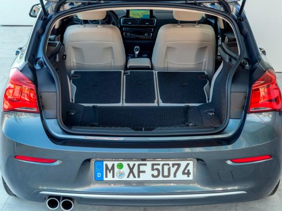 багажное отделение БМВ 1-серии (F20)