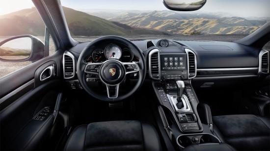 интерьер салона Porsche Cayenne S (958)