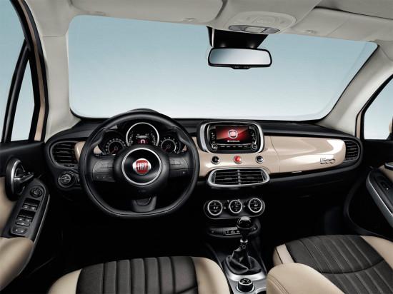интерьер салона Fiat 500X