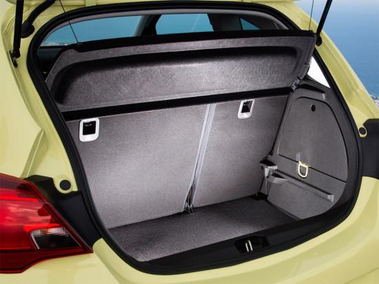 багажник трёхдверки Opel Corsa E