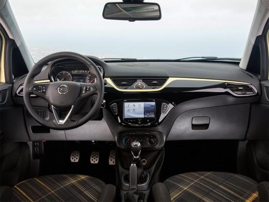 интерьер салона Opel Corsa E 3-дверного