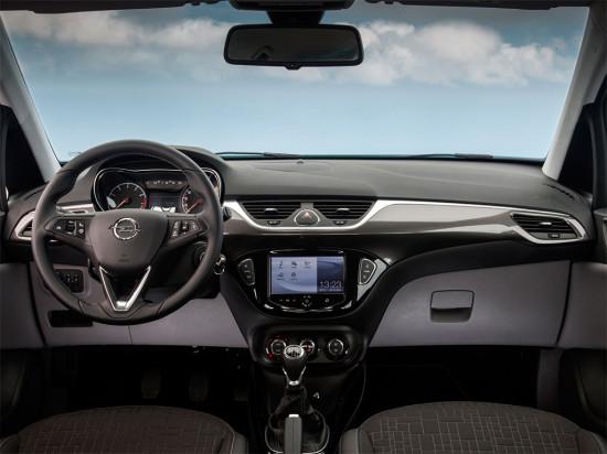 интерьер салона Opel Corsa E 5-дверного
