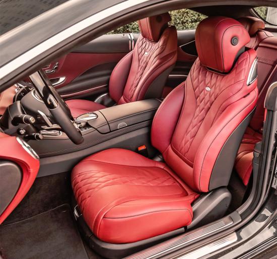 интерьер салона Mercedes-Benz S-Class Coupe (C217)