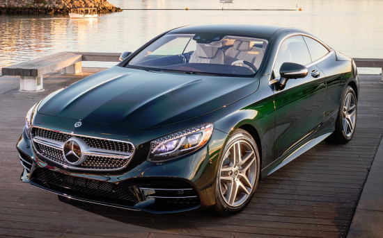 Mercedes-Benz S-Class Coupe 2017-2018