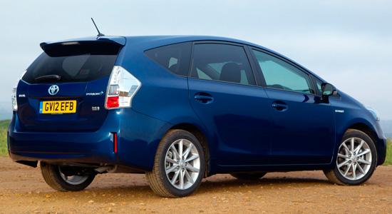 Тойота Приус V 2011-2015