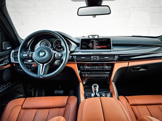 интерьер салона BMW X6 M F16