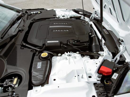 под капотом Jaguar F-Type Convertible