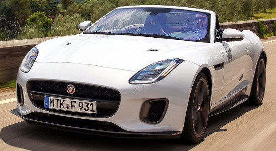 Jaguar F-Type Convertible на IronHorse.ru ©