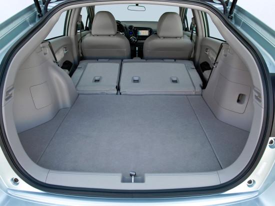 багажное отделение Honda Insight 2