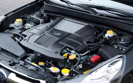 под капотом Subaru Legacy 5