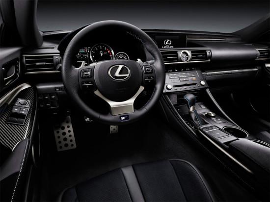 интерьер салона Lexus RC F