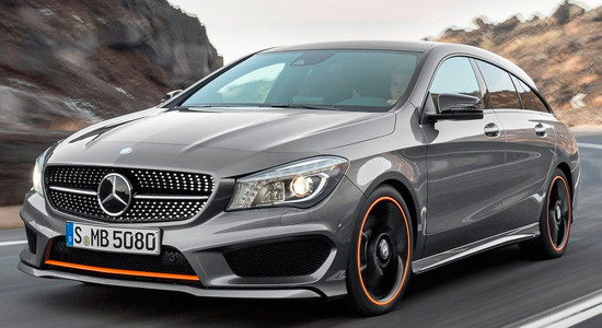 Mercedes-Benz CLA Shooting Brake на IronHorse.ru ©
