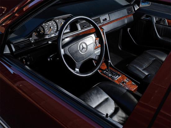 интерьер салона Mercedes-Benz E-class (W124)