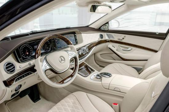 интерьер салона Mercedes-Benz S-Class Maybach