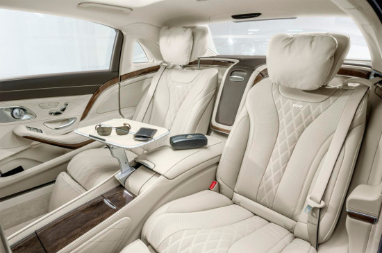 интерьер салона Mercedes-Maybach S-Class
